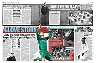 Daily Mail - 02-Dec-2019 - 'GLOVE STORY' - Photo by Rob Newell (Camerasport via Getty Images)