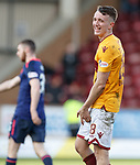 17.02.2019: Motherwell v Hearts: David Turnbull having a good chuckle at full time