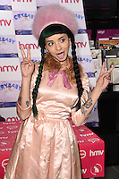 "Melanie Martinez<br /> signs copies of her new CD ""Cry Baby"" at HMV in Westfield, Shepherds Bush, London<br /> <br /> <br /> ©Ash Knotek  D3114 06/05/2016"