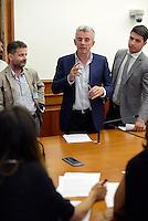 Roma, 17 Agosto 2016<br />  Il Ministro delle Infrastrutture e dei Trasporti insieme al Presidente Enac  e Michael O' Leary, Chief Executive di Ryanair hanno incontrato la stampa per illustrare il piano di sviluppo 2017 di Ryanair in Italia, a seguito delle politiche di attrazione degli investimenti del Governo.