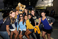 6 December 2008:  FIU fans show their spirit at a tailgating party prior to the FIU 27-3 victory over Western Kentucky at FIU Stadium in Miami, Florida.