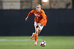 15 October 2016: Virginia's Tina Iordanou. The Duke University Blue Devils hosted the University of Virginia Cavaliers at Koskinen Stadium in Durham, North Carolina in a 2016 NCAA Division I Women's Soccer match. Duke won the game 1-0.