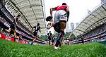 New Zealand play Kenya on Day 2 of the Cathay Pacific / HSBC Hong Kong Sevens 2013 on 23 March 2013 at Hong Kong Stadium, Hong Kong. Photo by Manuel Queimadelos / The Power of Sport Images