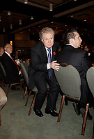 Nov 6  2008 , Jean Charest get up to adress the Montreal Board of Trade of the election's first day.<br /> <br /> Charest was elected for the first time  April 14 2003, he is seeking a 3rd term in the  Quebec provincial election which will be held Dec 14, 2008.