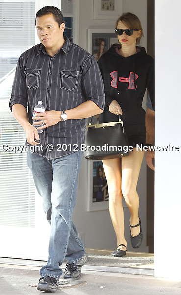 Pictured: Taylor Swift<br /> Mandatory Credit &copy; Ben Foster/Broadimage<br /> Taylor Swift leaving the gym in Beverly Hills<br /> <br /> 1/25/14, Beverly Hills, California, United States of America<br /> <br /> Broadimage Newswire<br /> Los Angeles 1+  (310) 301-1027<br /> New York      1+  (646) 827-9134<br /> sales@broadimage.com<br /> http://www.broadimage.com<br /> <br /> <br /> Pictured: Taylor Swift<br /> Mandatory Credit &copy; Ben Foster/Broadimage<br /> Taylor Swift leaving the gym in Beverly Hills<br /> <br /> 1/25/14, Beverly Hills, California, United States of America<br /> Reference: 012514_HDLA_BDG_B_009<br /> <br /> Broadimage Newswire<br /> Los Angeles 1+  (310) 301-1027<br /> New York      1+  (646) 827-9134<br /> sales@broadimage.com<br /> http://www.broadimage.com