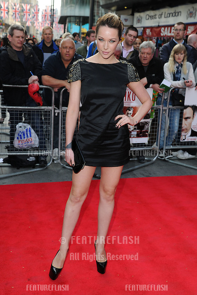 "Emily Scott arriving for the premiere of ""Klitschko"" at the Empire cinema, Leicester Square , London. 21/05/2012 Picture by: Steve Vas / Featureflash"