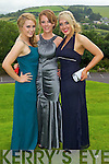 Sarah O'Connell, Danielle O'Leary and Elaine O'Connor pictured at the Pres Tralee debs in Ballyroe Heights Hotel on Wednesday, August 8th..