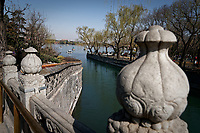 Beihai Park in Beijing, China