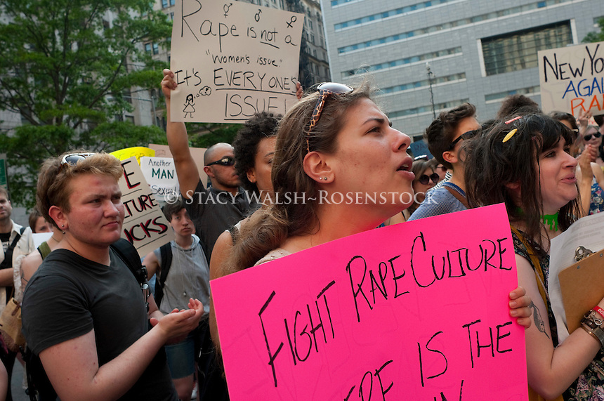 Women Protest Verdict in NYPD Rape Trial | Stacy Walsh~Rosenstock