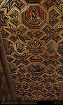 Nave Gilded Coffered Ceiling Domenico Zampieri Domenichino 1617 Santa Maria in Trastavere Trastevere Rome