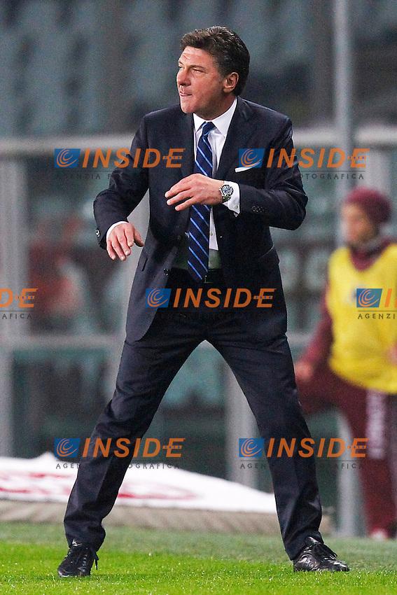 Walter Mazzarri Inter,<br /> Torino 20-10-2013<br /> Stadio Olimpico <br /> Football Calcio 2013/2014 Serie A <br /> Torino - Inter<br /> Foto Marco Bertorello Insidefoto