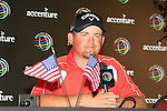 J.B. Holmes (USA) in the interview room at the end of  Day 3 of the Accenture Match Play Championship from The Ritz-Carlton Golf Club, Dove Mountain, Friday 25th February 2011. (Photo Eoin Clarke/golffile.ie)