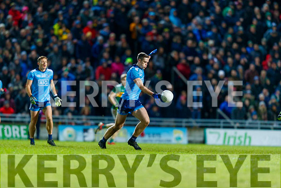 Brian Fenton Dublin during the Allianz Football League Division 1 Round 3 match between Kerry and Dublin at Austin Stack Park in Tralee, Kerry on Saturday night.
