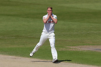 Frustration for Jamie Porter of Essex during Worcestershire CCC vs Essex CCC, Specsavers County Championship Division 1 Cricket at New Road on 13th May 2018