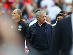 Jose Mourinho manager of Manchester United during the Premier League match at Old Trafford Stadium, Manchester. Picture date: September 10th, 2016. Pic Simon Bellis/Sportimage