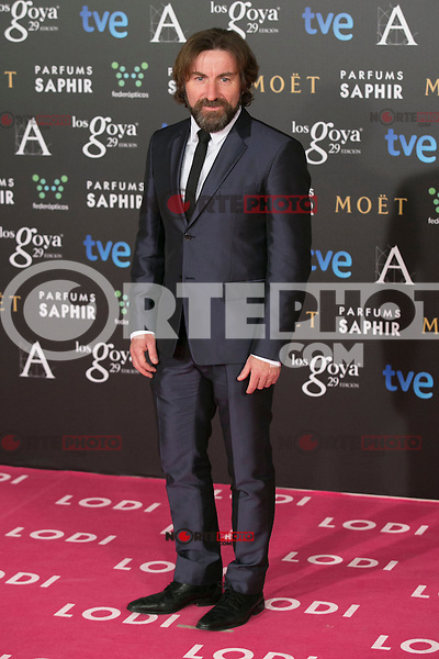 Antonio De La Torre attend the 2015 Goya Awards at Auditorium Hotel, Madrid,  Spain. February 07, 2015.(ALTERPHOTOS/)Carlos Dafonte) /NORTEphoto.com