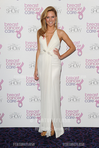 Kimberley Garner arriving for the Breast Cancer Care Fashion Show, Grosvenor House Hotel, London. 02/10/2012 Picture by: Steve Vas / Featureflash