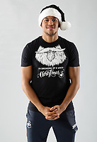 Pictured: Martin Olsson<br /> Swansea City FC and Ospreys RFC Christmas photo shoot at the Fairwood Trainining Ground, near Swansea, Wales, UK. 17 October 2017