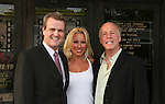 "Greg Jackson (Producer of Affirmative Act), Rachel Robbins (in the cast) and Jackie ""The Jokeman"" Martling (Host of the Festival) attend the Filmmakers' Reception and Opening Night of the Hoboken International Film Festival - World Premiere Screening of ""An Affirmative Act"" - the first-ever courtroom drama about the legalization of Gay marriage on June 3, 2010 at the Cedar Lane Cinemas, Teaneck, New Jersey. (Photo by Sue Coflin/Max Photos)"