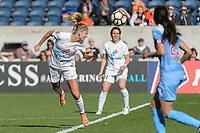 Bridgeview, IL - Saturday April 22, 2017: Katie Bowen during a regular season National Women's Soccer League (NWSL) match between the Chicago Red Stars and FC Kansas City at Toyota Park.