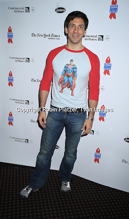 actor Michael Berresse ..at The Broadway Cares/Equity Fights Aids 22nd Annual Broadway Flea Market on September 21, 2008 in Shubert Alley in New York City. ....Robin Platzer, Twin Images