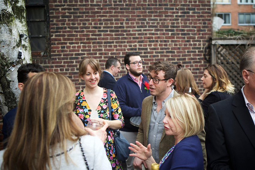 NEW YORK, NY - April 11, 2017: Chef Pati Jinich, joined by Chefs Rafael Zaga and Fany Gerson, presents a Mexican Seder for the second night of Passover at the James Beard House.<br /> <br /> Credit: Clay Williams for The James Beard Foundation<br /> <br /> &copy; Clay Williams / http://claywilliamsphoto.com