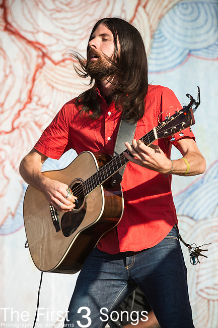 Seth Avett of The Avett Brothers performs during Day 1 of the 2013 Firefly Music Festival in Dover, Delaware.