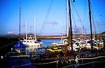 Harbour at Calleta del Fuste, Fuerteventura, Canary Islands, Spain