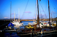 Harbour at Calleta del Fuste, Fuerteventura, Canary Islands, Spain