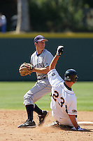 June 5, 2010: Casey Stevenson of UC Irvine during NCAA Regional game against Kent State at Jackie Robinson Stadium in Los Angeles,CA.  Photo by Larry Goren/Four Seam Images