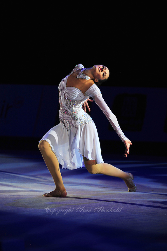 "Anna Bessonova of Ukraine performs gala during opening ceremony at 2011 World Cup Kiev, ""Deriugina Cup"" in Kiev, Ukraine on May 07, 2011."