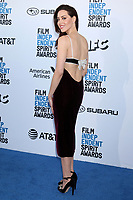 LOS ANGELES - FEB 23:  Aubrey Plaza at the 2019 Film Independent Spirit Awards on the Beach on February 23, 2019 in Santa Monica, CA