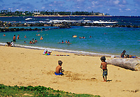 Lydgate State Park Beach, Kauai