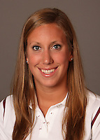 STANFORD, CA - SEPTEMBER 10:  Angela Duckworth of the Stanford Cardinal during women's swimming picture day on September 10, 2009 in Stanford, California.