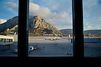 Palermo, Aeroporto Punta Raisi. Aereo Ryanair