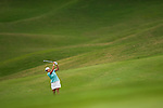 TAOYUAN, TAIWAN - OCTOBER 28:  Cristie Kerr of USA plays her second shot on the 17th hole during the day four of the Sunrise LPGA Taiwan Championship at the Sunrise Golf Course on October 28, 2012 in Taoyuan, Taiwan.  Photo by Victor Fraile / The Power of Sport Images
