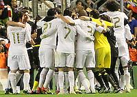 2.05.2012. Bilbao, Spain. La Liga. Real Madrid beat Athelicto de Bilbao 0-3 at San Mames stadium  and   is new La Liga championship.