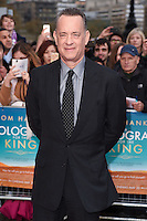 "Tom Hanks<br /> arrives for the premiere of ""A Hologram for the King"" at the Bfi, South Bank, London<br /> <br /> <br /> ©Ash Knotek  D3110 25/04/2016"