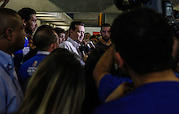 SAO PAULO, SP, 30 JUNHO 2012 - GILBERTO KASSAB NA VIRADA ESPORTIVA 2012 - O prefeito de Sao Paulo Gilberto Kassab (PSB) acompanhado do secretario municipal de esportes Bebeto Haddad durante visita das atividades da Virada Esportiva 2012  no CEU Água Azul na Cidade Tiradentes na Zona Leste de Sao Paulo, neste sabado, 30. (FOTO: WILLIAM VOLCOV / BRAZIL PHOTO PRESS)
