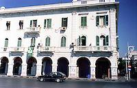 Libyan Arab Jamahiriya   .Tripoli   The Italian District    .Libia Tripoli  Giugno 2002.Il Quartiere Italiano..