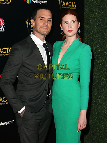 04 January 2019 - West Hollywood California - Emma Booth, Dominick Joseph Lunar. 8th AACTA International Awards held at Skybar at Mondrian Los Angeles.         <br /> CAP/ADM/FS<br /> ©FS/ADM/Capital Pictures
