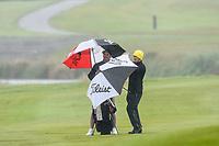 Rain, Toro New Zealand Mens Interprovincial Tournament, Clearwater Golf Club, Christchurch, New Zealand, 26th November 2018. Photo:John Davidson/www.bwmedia.co.nz