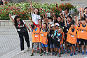(U to D) <br /> Kyoko Iwasaki, <br /> Monika Seryu, <br /> AUGUST 25, 2016 : <br /> The countdown event to mark 4 years to the start of <br /> the 2020 Tokyo Paralympic Games <br /> at Tokyo Metropolitan Government, Tokyo, Japan. <br /> (Photo by YUTAKA/AFLO SPORT)