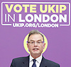 UKIP launch London Manifesto 2016 <br /> with Candidates for mayor and the London Assembly <br /> at the Emmanuel Centre, London, Great Britain <br /> 19th April 2016 <br /> <br /> <br /> Peter Whittle <br /> Candidate for mayor of London <br /> <br /> <br /> <br /> <br /> Photograph by Elliott Franks <br /> Image licensed to Elliott Franks Photography Services