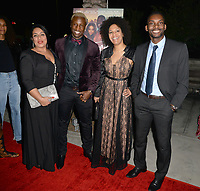 "LOS ANGELES, CA- FEB. 08: The Cast of ""Soul Mates"" from France at the 2018 Pan African Film & Arts Festival at the Cinemark Baldwin Hills 15 in Los Angeles, California on Feburary 8, 2018 Credit: Koi Sojer/ Snap'N U Photos / Media Punch"