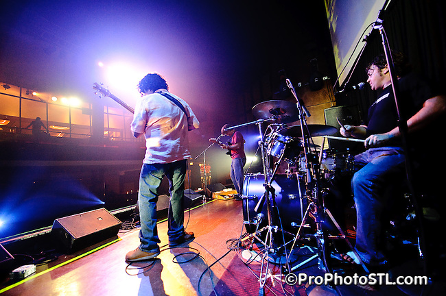 Madahoochi in concert during Local Music Marathon at Voodoo Lounge of Harrah's Casino in St. Louis, MO on July 31, 2009