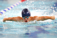 Picture by Richard Blaxall/SWpix.com - 14/04/2018 - Swimming - EFDS National Junior Para Swimming Champs - The Quays, Southampton, England - Leo McCrea of Bournemouth College during the Men's MC 200m Individual Medley