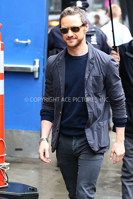 WWW.ACEPIXS.COM<br /> <br /> May 24 2016, New York City<br /> <br /> Actor James McAvoy made an appearance at 'Good Morning America' at the ABC Times Square Studios on May 24, 2017 in New York City<br /> <br /> <br /> By Line: Zelig Shaul/ACE Pictures<br /> <br /> <br /> ACE Pictures, Inc.<br /> tel: 646 769 0430<br /> Email: info@acepixs.com<br /> www.acepixs.com
