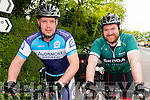 Finuge Charity Cycle: Taking part in the Finuge Freewheelers Cycling Club's charity cycle for Multiple Sclerosis around North Kerry on Saturday lsat were Liam O'Connor & Kieran Cronin from Kiskeam.
