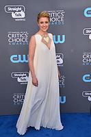 Greta Gerwig at the 23rd Annual Critics' Choice Awards at Barker Hangar, Santa Monica, USA 11 Jan. 2018<br /> Picture: Paul Smith/Featureflash/SilverHub 0208 004 5359 sales@silverhubmedia.com